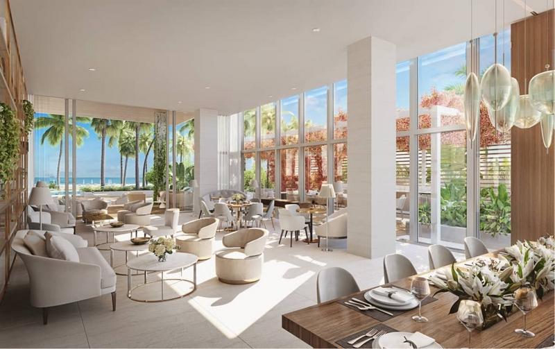 57 Ocean residences - Club Room