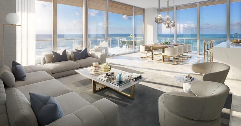 57 Ocean residences - Residence Living Room