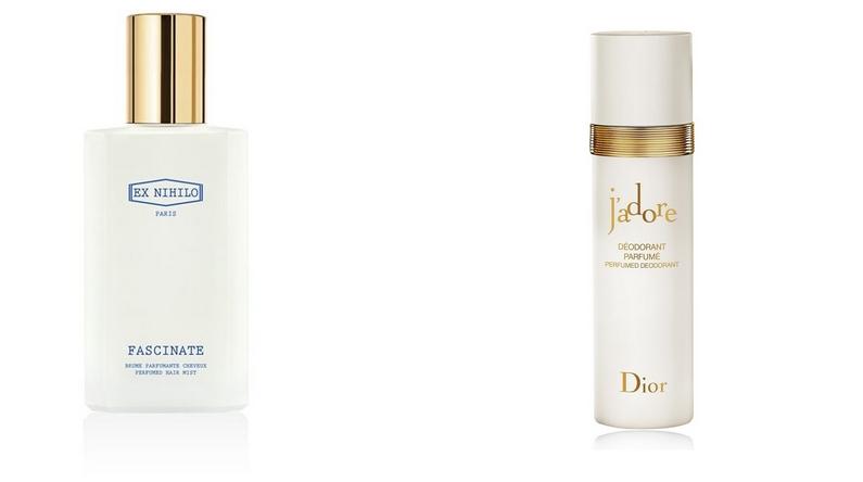 6 Ex Nihilo Fascinate Perfumed Hair Mist x DIOR J'adore Perfumed Deodorant