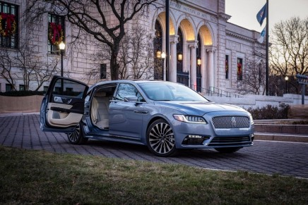 80th Anniversary Lincoln Continental Coach Door Edition: Timeless classic, newly reimagined for 2019