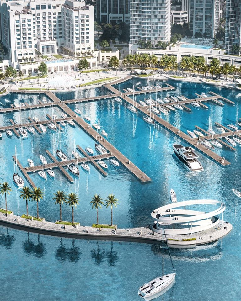 81 berths and world-class yacht club