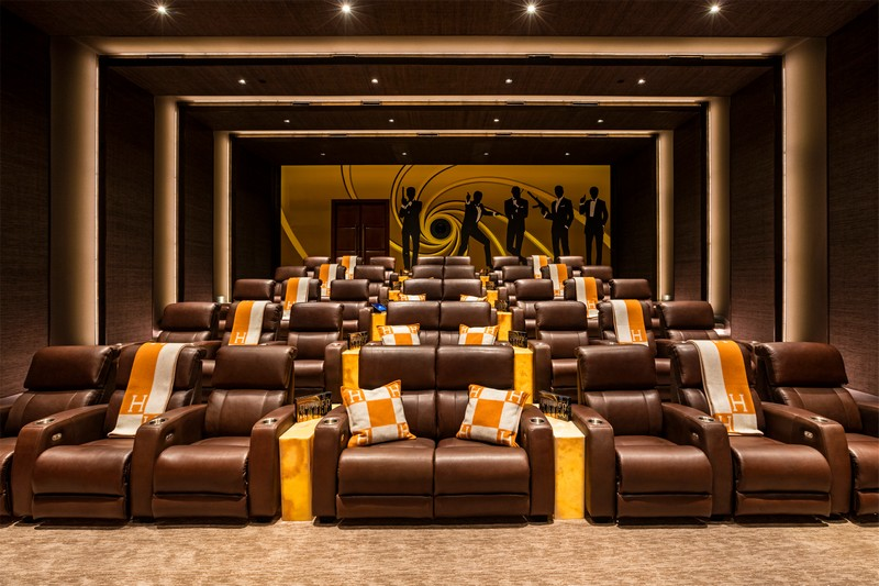 924 Bel Air Road California- private cinema