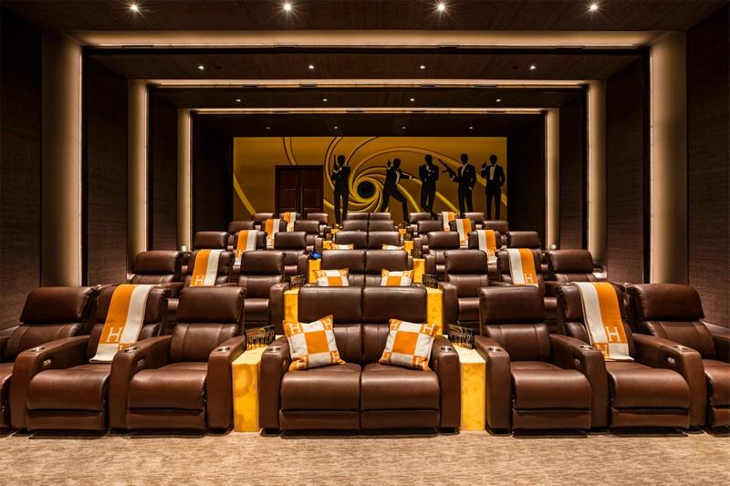 924 Bel Air Road California- private cinema