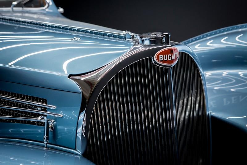 A 1936 Bugatti Type 57SC Atlantic was named winner of The Peninsula Classics Best of the Best Award 2017-