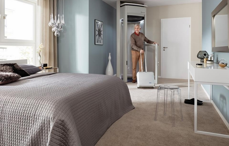 A LIFTON Duo HomeLift is perfect for moving household items, luggage and even pets between floors