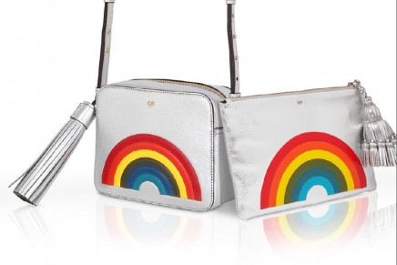 Carefree happiness in Limited Edition Anya Hindmarch bags