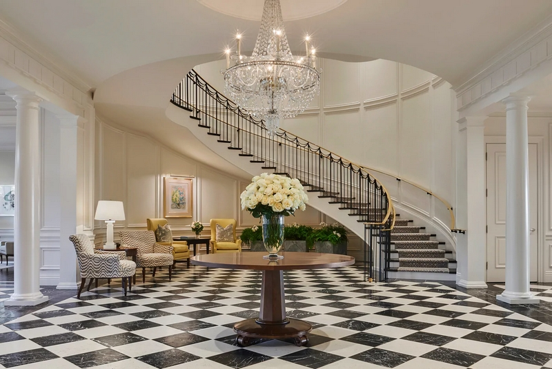 A New Oceanfront Oasis in Montecito - Rosewood Miramar Beach-staircase