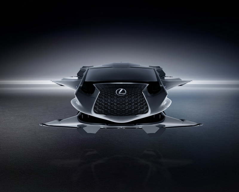 A closer look at the Lexus Jet from Sony Pictures Men in Black International