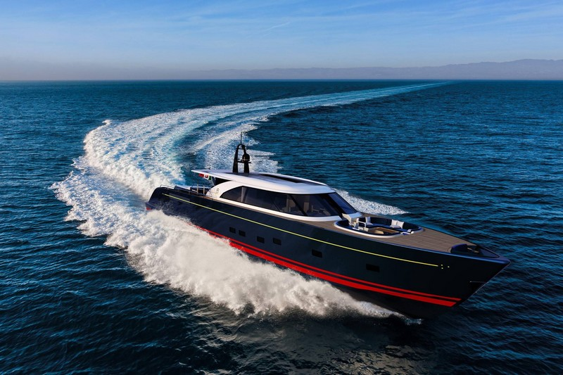 A cross between a chase boat and a tender the new aluminum 25m Eco Tender-