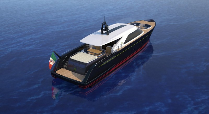 A cross between a chase boat and a tender the new aluminum 25m Eco Tender