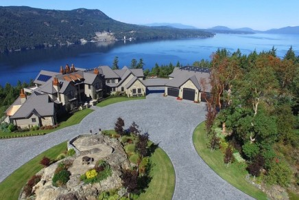 This home is an absolute show-stopper. 16 000 square feet of pure luxury at 6720 Willis Point, Victoria, BC