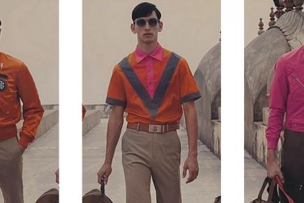 Jaipur walk with Louis Vuitton men