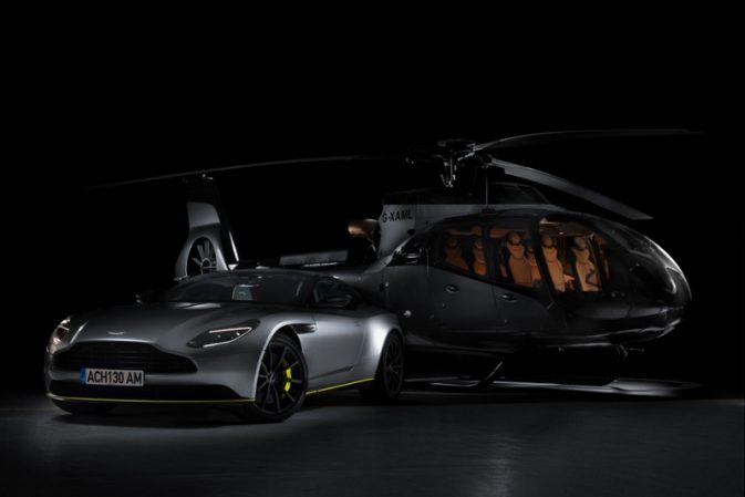 ACH130 Aston Martin Edition – the first offering from Airbus Corporate Helicopters x Aston Martin