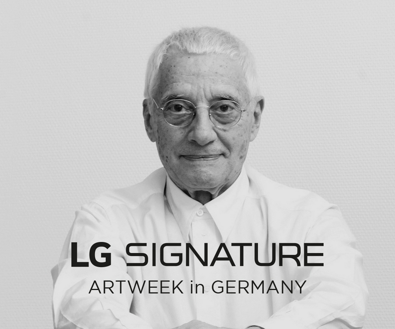 ALESSANDRO MENDINI, Director of LG SIGNATURE ARTWEEK