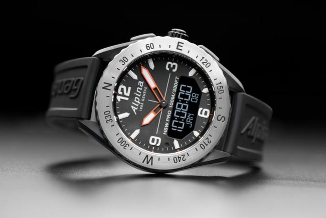ALPINA LAUNCHES THE OUTDOORS SMART WATCH ALPINERX