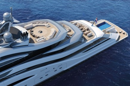 First look at the new 111-metre AMELS Full Custom project (364 ft)