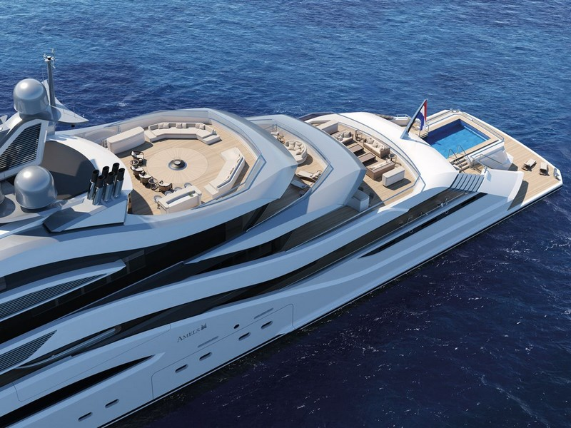 AMELS AND H2 YACHT DESIGN UNVEIL 111-METRE CONCEPT AT MYS 2017