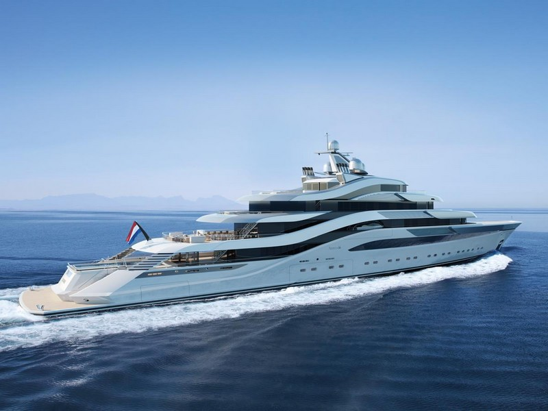 AMELS AND H2 YACHT DESIGN UNVEIL 111-METRE CONCEPT AT MYS