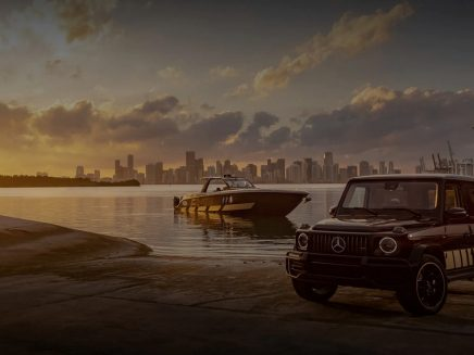 AMG G 63 Cigarette Edition boat – the 12th collaboration between Cigarette Racing and AMG