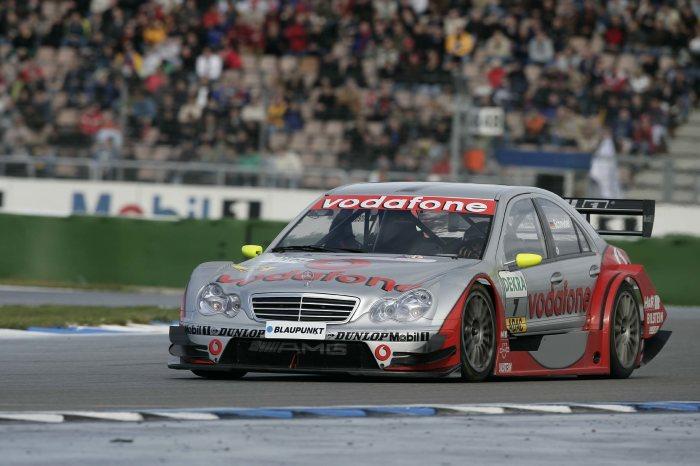 AMG Mercedes C-Class racing tourer (W 203), DTM race in Hockenheim, 2005