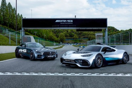 The AMG Speedway is the world's first racetrack bearing AMG name