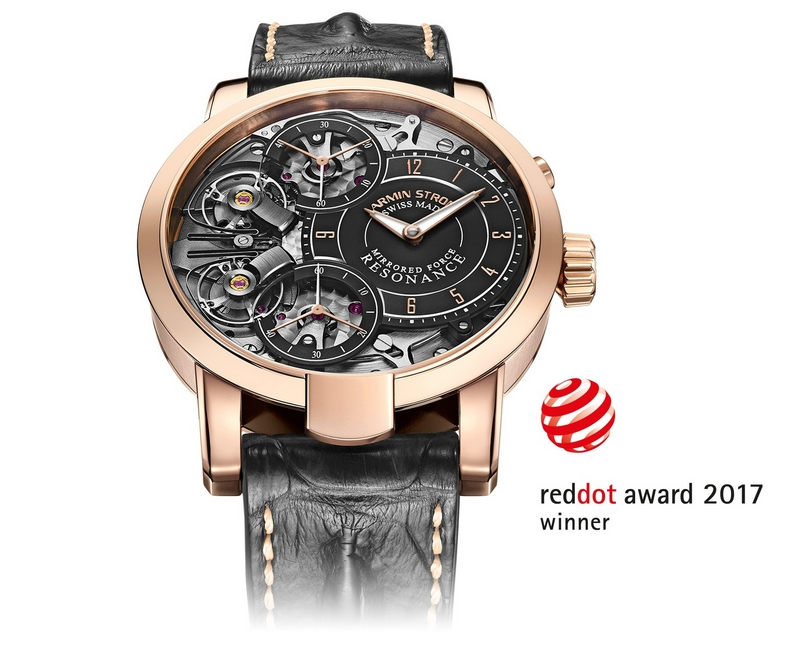 ARMIN STROM Mirrored Force Resonance Red Dot Design Awards 2017