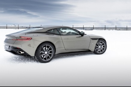 DB11 Volante On Ice debut