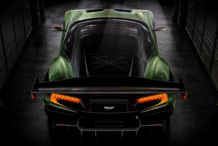 Vulcan, the track-only Aston Martin supercar. Limited to just 24 examples worldwide