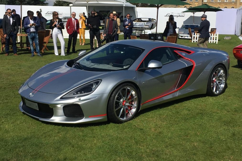 ATS GT supercar by Italian automotive constructor. Automobili Turismo e Sport, to make global debut at Salon Prive 2017- 03