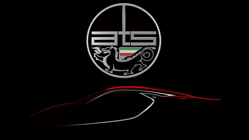 ATS GT supercar by Italian automotive constructor. Automobili Turismo e Sport, to make global debut at Salon Prive 2017- teaser images