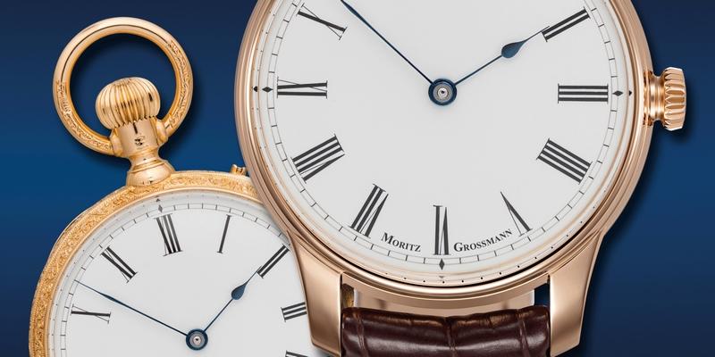 ATUM 37 Hommage und Moritz Grossman pocket watch