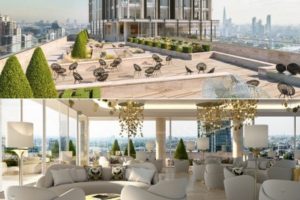 This luxury London property offers a lavish lifestyle along with ultimate branded living