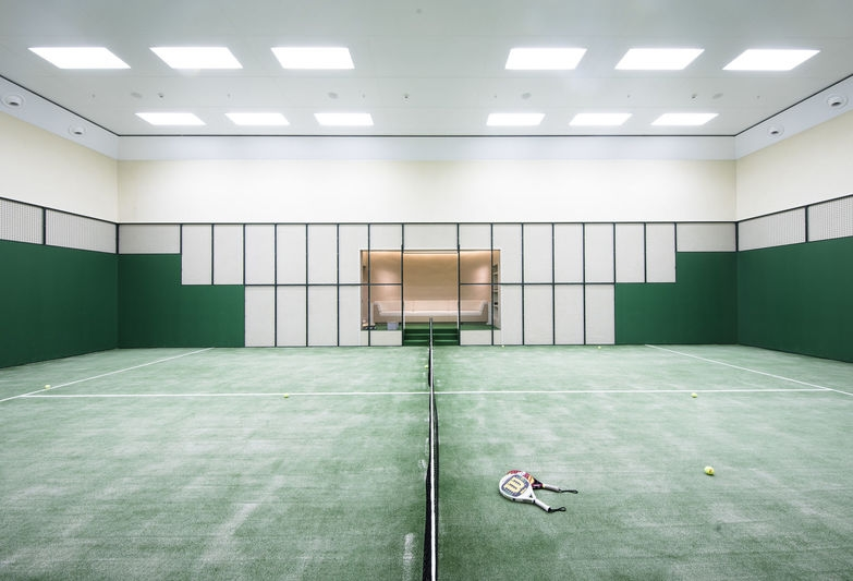 Abeking & Rasmussen Aviva's professional Padel Tennis Court