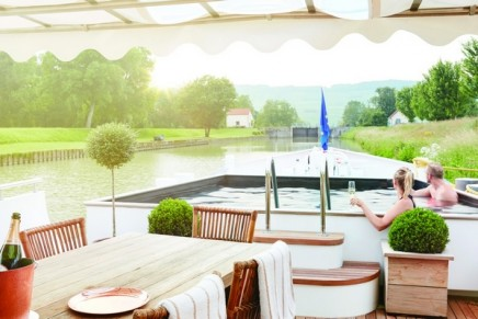Slow Travel: The best of the France's countryside enjoyed on a luxury barge