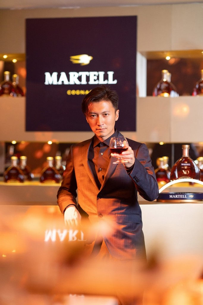 Acclaimed actor, singer, entrepreneur and chef Nicholas Tse, Martell Ambassador in Asia