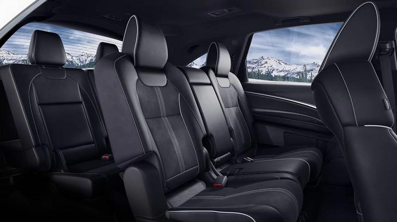 Acura MDX third-row seating