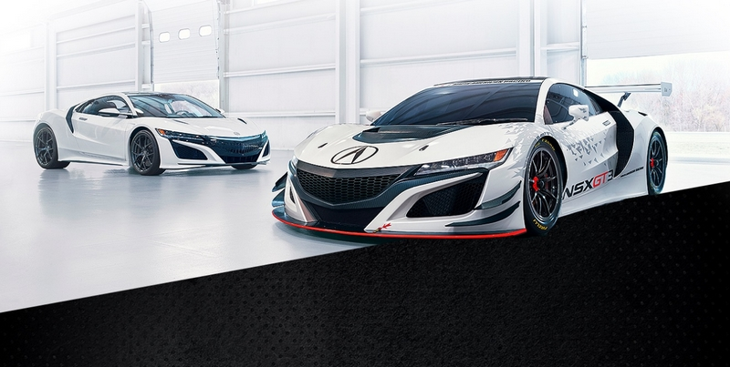Acura NSX GT3 race car will be offered for sale around the world ahead of the 2018 racing season-