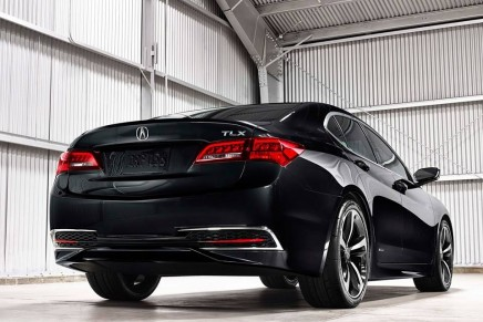 Production Acura TLX performance-luxury sedan debuts at the 2014 New York International Auto Show
