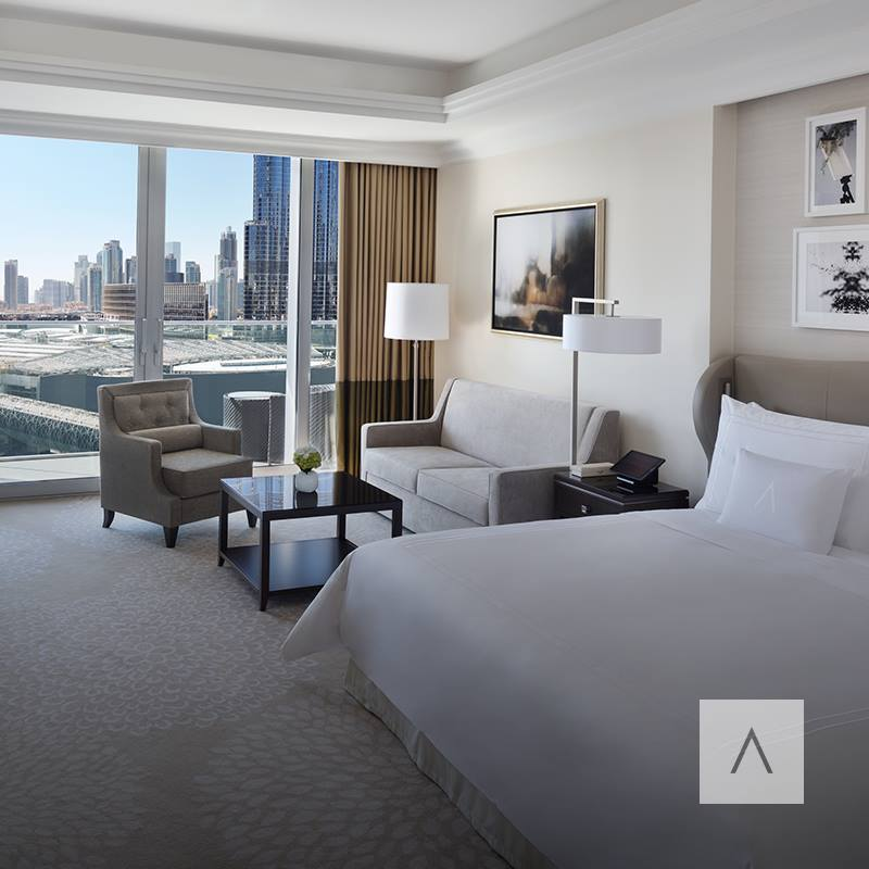 Address Boulevard. Furnished with elegant décor, exceptional fittings and contemporary themes