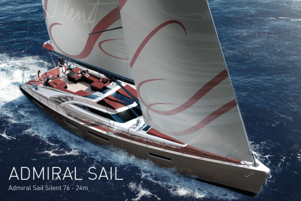Top five largest sailing yachts @ 37th Cannes Yachting Festival 2014