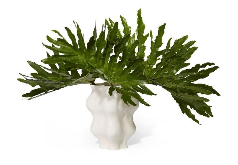 Aerin Large Corvo Parchment Vase-