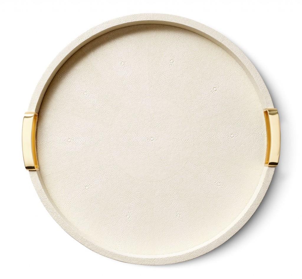 Aerin Small Carina Round Tray