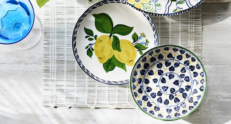 Aerin for Williams Sonoma Summer 2019- tableware-collection