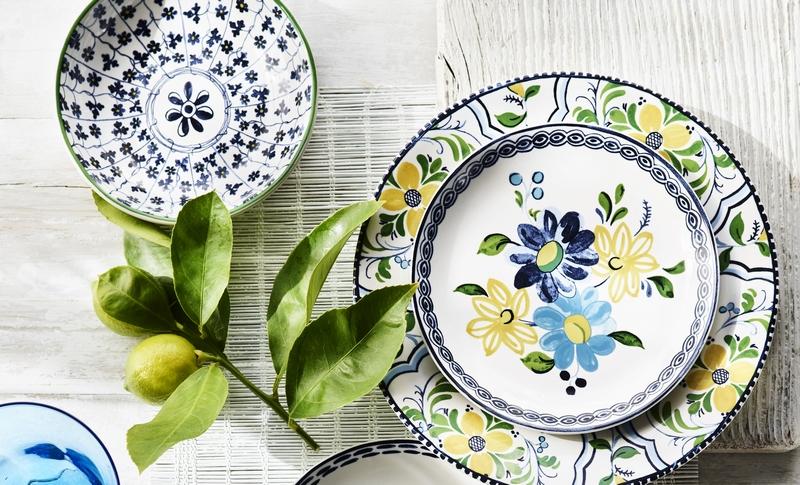 Aerin for Williams Sonoma Summer 2019- tableware