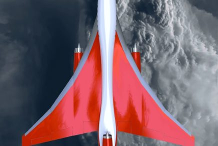 The first-ever privately built supersonic commercial aircraft to begin flight testing in 2024