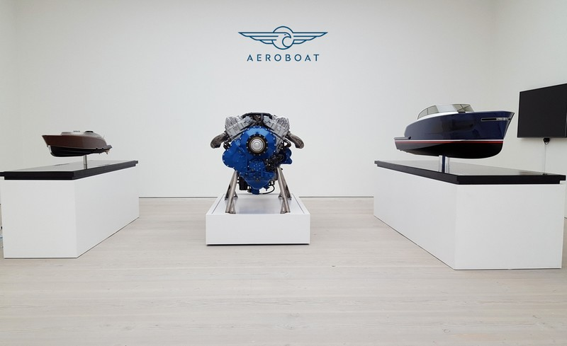 Aeroboat powered by Rolls-Royce is a quintessential British brand - 2017 launch