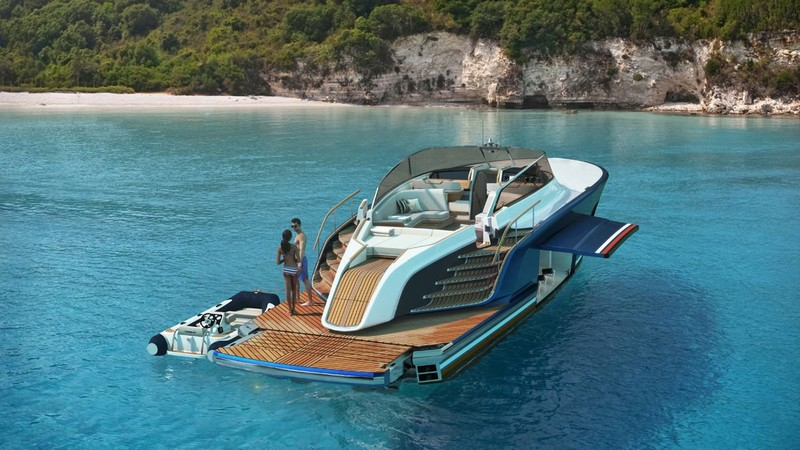 Aeroboat powered by Rolls-Royce is a quintessential British brand - renderings