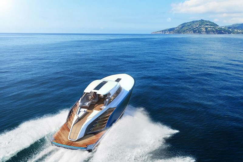 Aeroboat powered by Rolls-Royce is a quintessential British brand