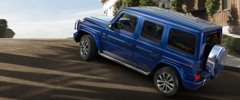 After 40 years of conquering terrain on every continent, the G-Class journey advances