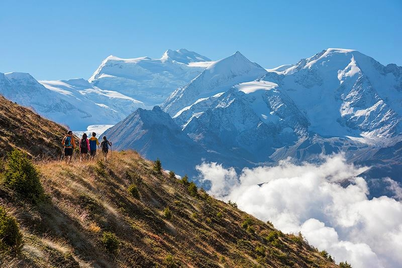 Ain't No Mountain High Enough in Verbier Switzerland